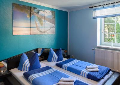 Fremdenzimmer 1 - ganz in blau
