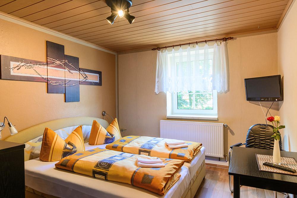 Übernachten Sie in einem unserer gemütlichen Doppelzimmer